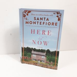 3/$10       Santa Montefiore Here and Now Novel